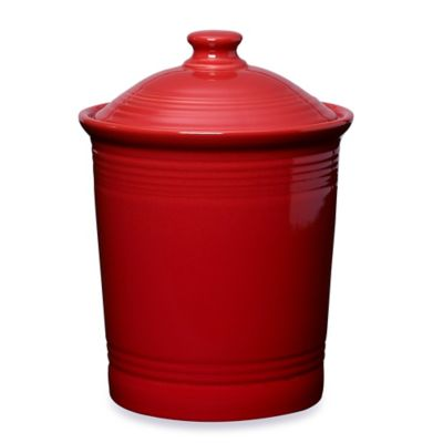 Fiesta® Large Canister in Scarlet