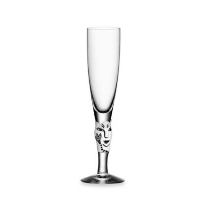 White Champagne Glasses & Flutes