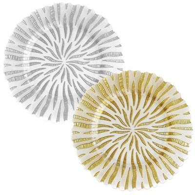 Halley Charger Plate in Gold (Set of 4)