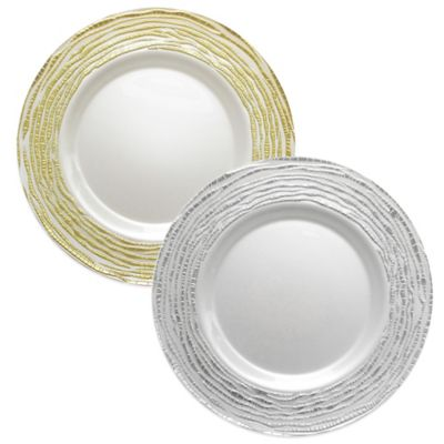 Arizona Charger Plate in Gold (Set of 4)