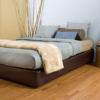Bed with Box from Leather