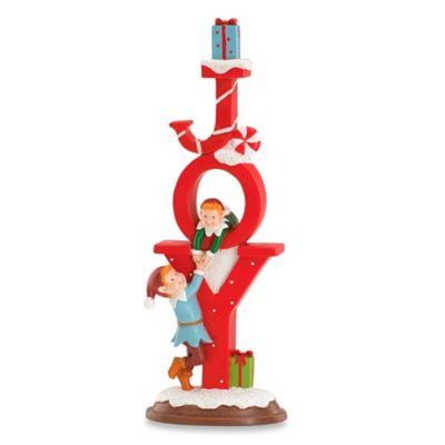 Kathy Ireland Home® by Gorham Once Upon a Christmas Joy Figurine