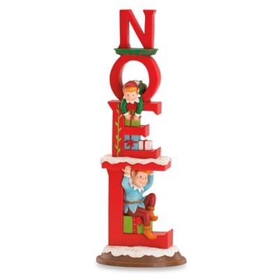 Kathy Ireland Home® by Gorham Once Upon a Christmas Noel Figurine