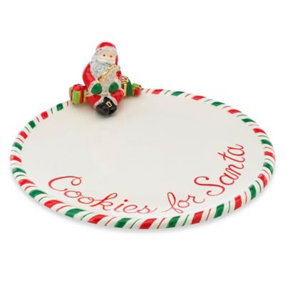 Kathy Ireland Home® by Gorham Once Upon a Christmas Cookie for Santa Plate