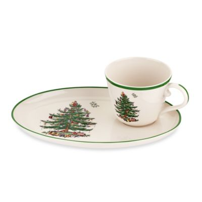 Spode® Christmas Tree Soup & Sandwich Set