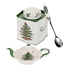 Spode® Christmas Tree 2014 3-Piece Tea Set