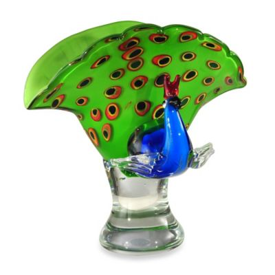 Dale Tiffany™ Peacock Bowl