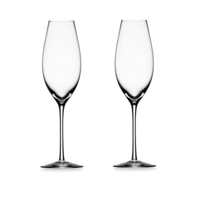 Orrefors Difference Champagne Toasting Flutes (Set of 2)