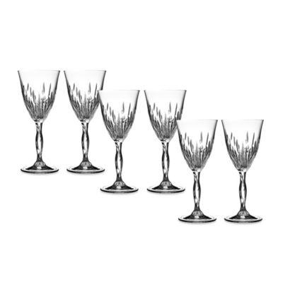 Lorren Home Trends Fire Wine Goblet (Set of 6)