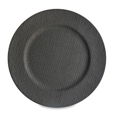 Charcoal 13-Inch Charger Plates (Set of 4)