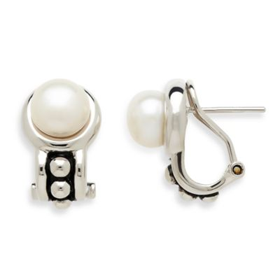 Honora Pallini Sterling Silver Freshwater Cultured Pearl Earrings