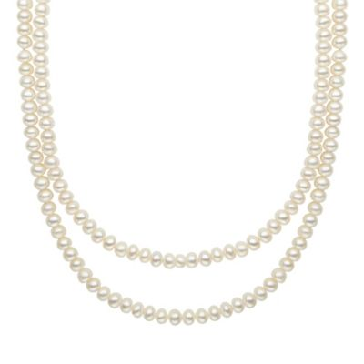 Honora Freshwater Cultured Pearl 48-Inch Chain Strand Necklace