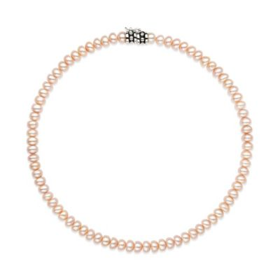 Honora Sterling Silver Freshwater Cultured Pearl 14-Inch Strand Necklace