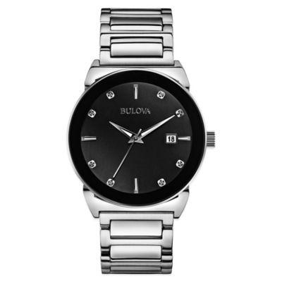 Men's Watch Black Dial