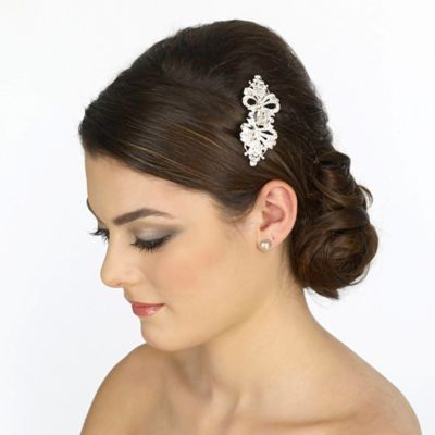 Petite Rhinestone Bridal Clip