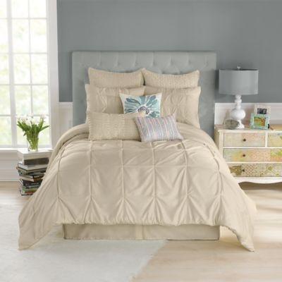 Anthology™ Whisper Twin Comforter Set in Oatmeal
