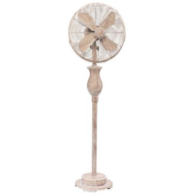 Deco Breeze® Serene 16-Inch Standing Floor Fan