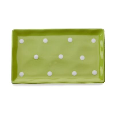 Maxwell & Williams™ Sprinkle Collection Rectangular Tray in Lime