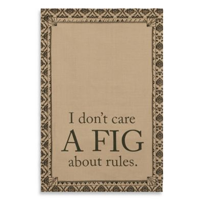 "Downton Abbey® Life Collection ""A Fig"" Tea Towel"