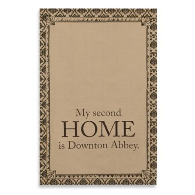 "Downton Abbey® Life Collection ""Second Home"" Tea Towel"