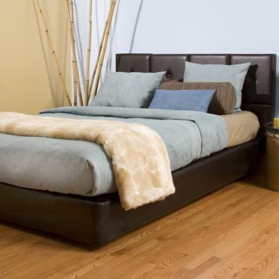 Howard Elliott® Avanti Queen Bed and Headboard Kit in Pecan