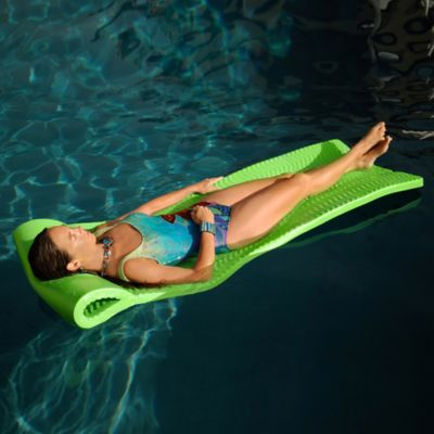 Super Soft® Serenity Pool Float in Kool Lime Green