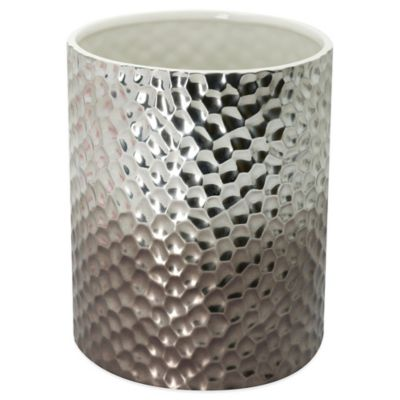 Kenneth Cole Porcelain Imprints Wastebasket