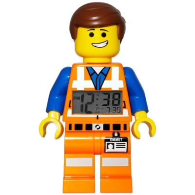 LEGO® Movie Emmet Minifigure Alarm Clock