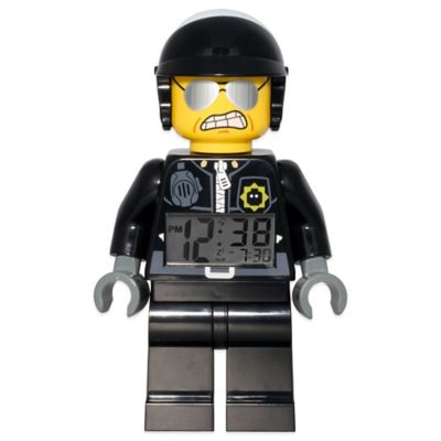 LEGO® Movie Bad Cop Minifigure Alarm Clock