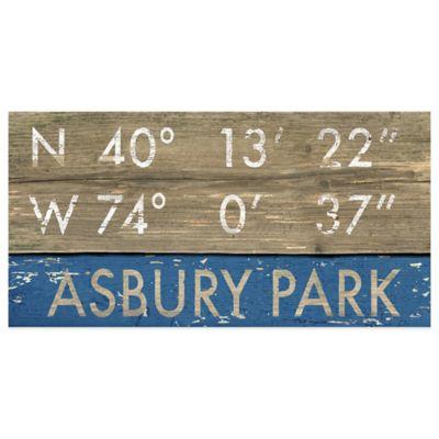 Asbury Park Framed Art