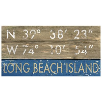 Long Beach Island Framed Art