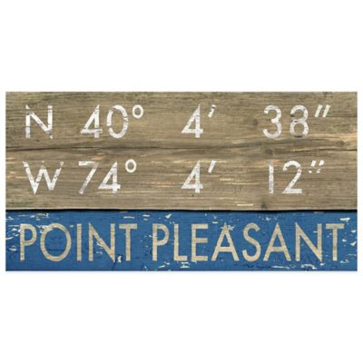 Point Pleasant Framed Art