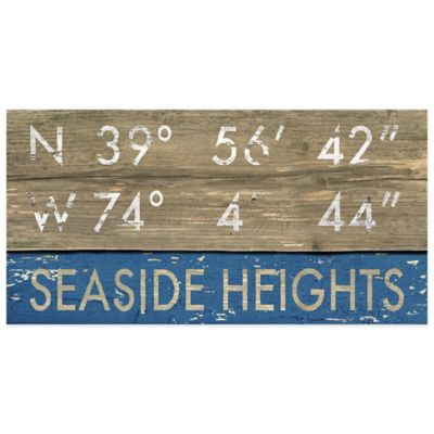 Seaside Heights Framed Art