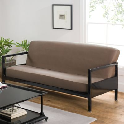 Loft NY Brushed Twill Queen Futon Cover in Khaki