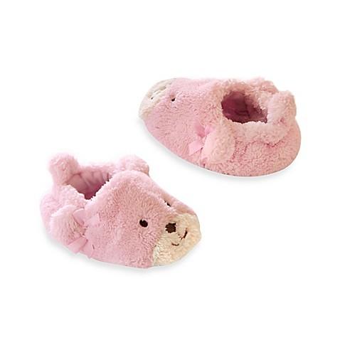 Goldbug Fuzzy Bear Slippers in Pink - Bed Bath & Beyond