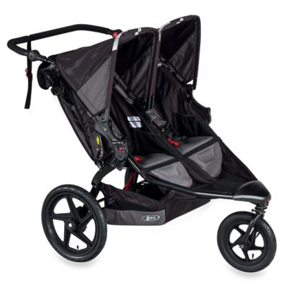 BOB® Revolution® FLEX Duallie® Double Stroller in Black