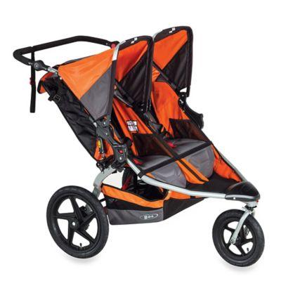 Orange Double Strollers
