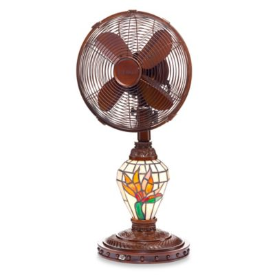Deco Breeze® Bird of Paradise Table Fan and Lamp