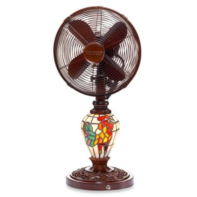 Deco Breeze® Rooster Table Fan and Lamp