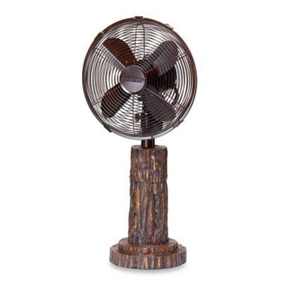 Deco Breeze® Fir Bark Table Fan