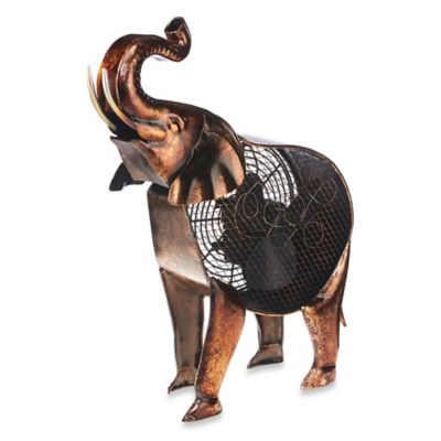 Deco Breeze® Elephant Figurine Table Fan