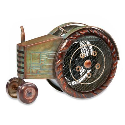 Deco Breeze® Tractor Figurine Table Fan