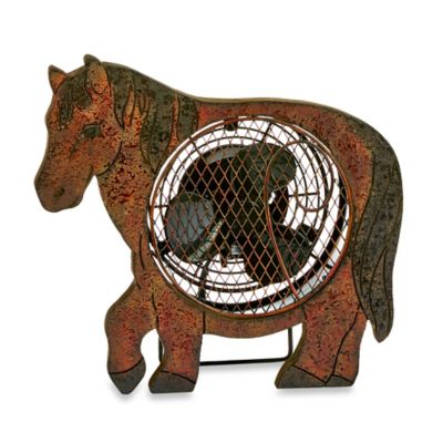 Deco Breeze® Horse Figurine Table Fan