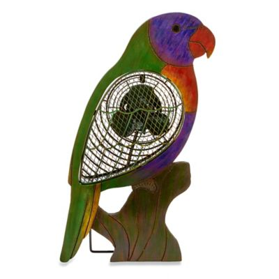 Deco Breeze® Lorikeet Figurine Table Fan
