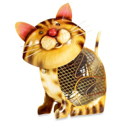 Deco Breeze® Country Cat Figurine Table Fan