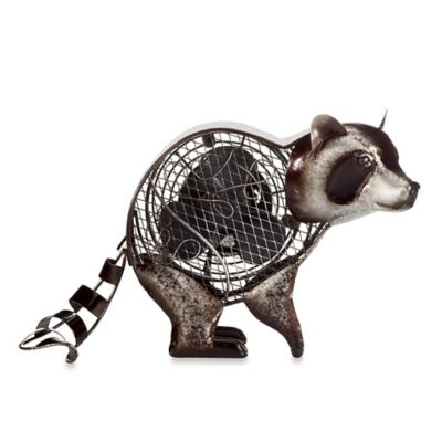 Deco Breeze® Raccoon Figurine Table Fan