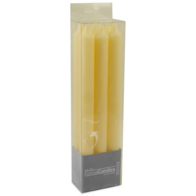 Formal Candles in Ivory (Set of 6)