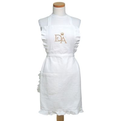 Downton Abbey® Life Collection Apron in White