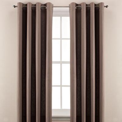Wamsutta® Linen 63-Inch Window Curtain Panel in Slate