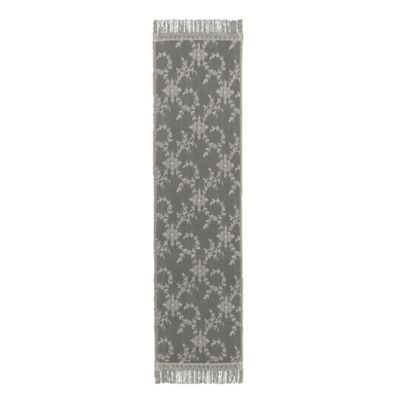 Downton Abbey® Yorkshire Collection Lace 72-Inch x 20-Inch Table Runner in Flax